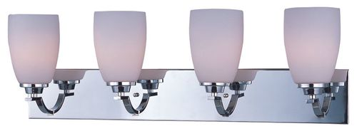 """Rocco 30.75"""" 4 Light Vanity Lighting in Polished Chrome"""
