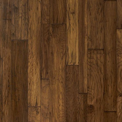 """Mountain View Hickory Mixed-Width, 3.25"""", 5"""", 6.5"""" Engineered Hardwood Plank - Fawn (37.71 sq. ft. per carton)"""