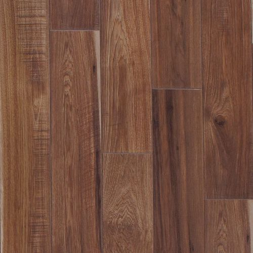 """Sawmill Hickory 6.18"""" x 50.5"""" Leather Laminate Plank Flooring 17.4 sq. ft."""
