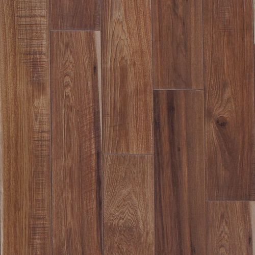 Sawmill Hickory Leather Brown Laminate Flooring Sample