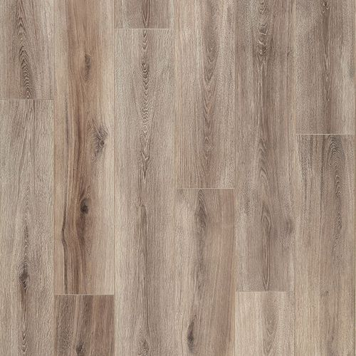 """Fairhaven 7.56"""" x 50.5"""" Brushed Taupe Laminate Plank Flooring 21.22 sq. ft."""