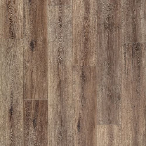 """Fairhaven 1.74"""" x 94"""" Brushed Coffee Laminate T-Molding 17.4 sq. ft."""
