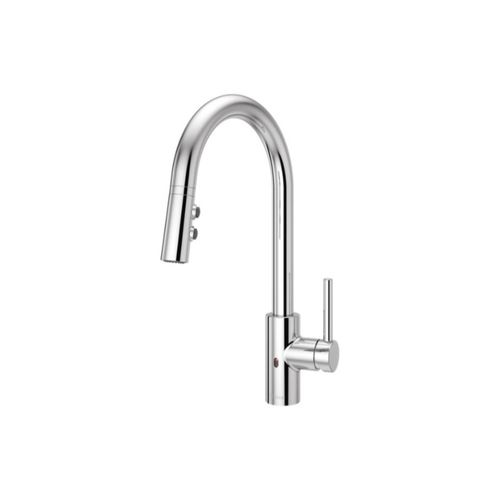 Stellen Touchless Pull-Down Kitchen Faucet in Polished Chrome