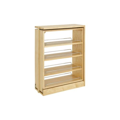"""432 Series Natural Maple Between Cabinet Pull-Out Organizer (9"""" x 23"""" x 30"""")"""