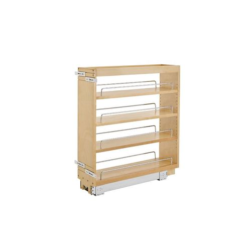 """448 Series Natural Maple Base Pull-Out Organizer (6.5"""" x 22.5"""" x 25.5"""")"""