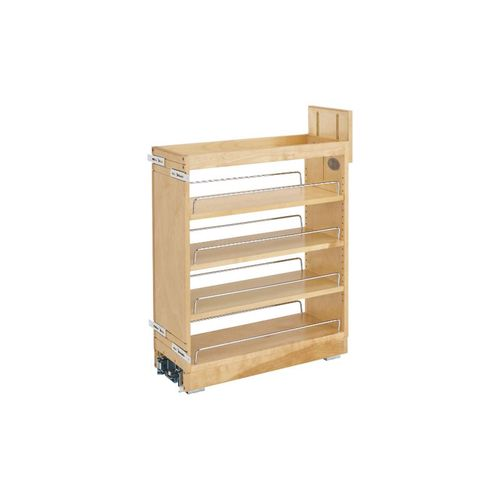 """448 Series Natural Maple Base Pull-Out Organizer (8"""" x 21.66"""" x 25.5"""")"""
