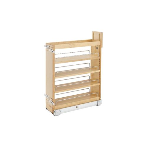"""448 Series Natural Maple Base Pull-Out Organizer (7.25"""" x 21.63"""" x 25.5"""")"""