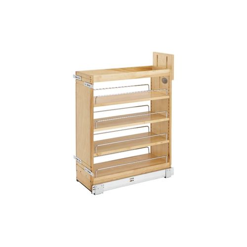 """448 Series Natural Maple Base Pull-Out Organizer (8.75"""" x 21.63"""" x 25.5"""")"""