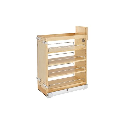 """448 Series Natural Maple Base Pull-Out Organizer (10.25"""" x 21.63"""" x 25.5"""")"""