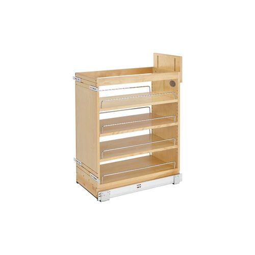 """448 Series Natural Maple Base Pull-Out Organizer (11.75"""" x 21.63"""" x 25.5"""")"""