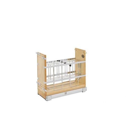 """447 Series Natural Maple Tray Divider Pull-Out Organizer (8.75"""" x 21.66"""" x 19.5"""")"""