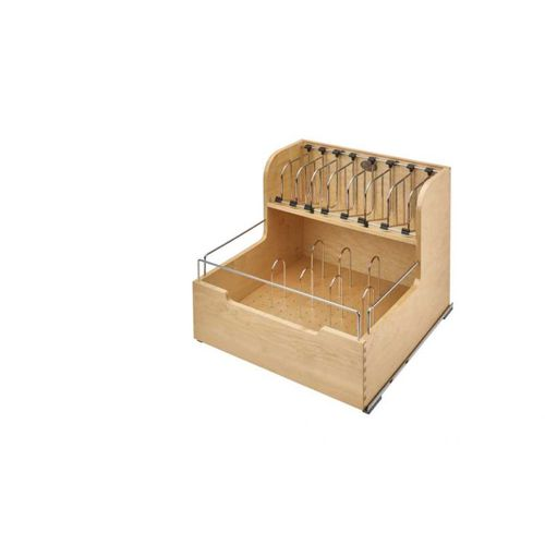 """4FSCO Series Natural Maple Base Pull-Out Organizer (20.5"""" x 21.25"""" x 18.88"""")"""
