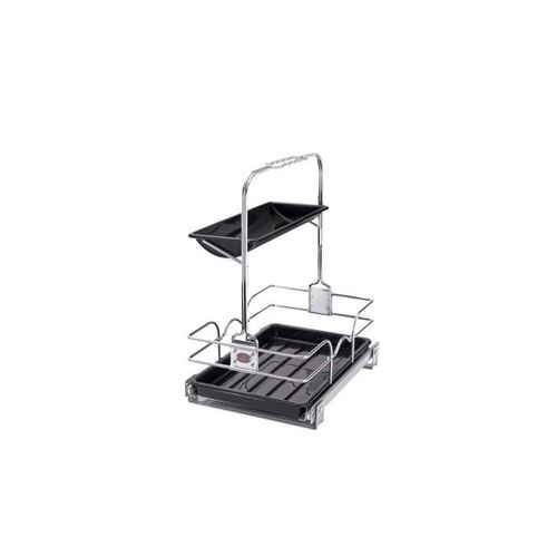 """544 Series Chrome Removable Caddy Pull-Out Organizer (11.25"""" x 16.25"""" x 19.5"""")"""
