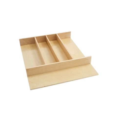 """4WUT Series Natural Maple Utensil Tray (18.5"""" x 22"""" x 2.88"""")"""