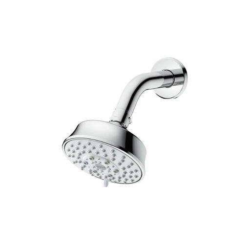 L Series Five-Spray Showerhead in Polished Chrome