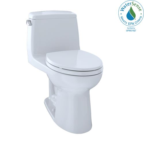 """Eco UltraMax One-Piece Elongated Toilet with CEFIONTECT - Cotton White (28.25"""" x 29.25"""" x 16.5"""")"""