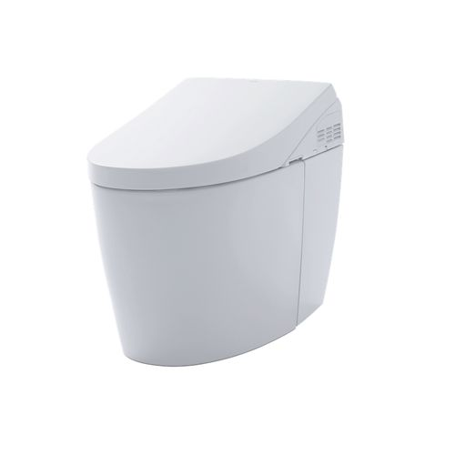 """Neorest Dual-Flush With Integrated Bidet Seat with integrated Bidet Seat and EWATER+ - Cotton White (27.19"""" x 21.69"""" x 15.19"""")"""