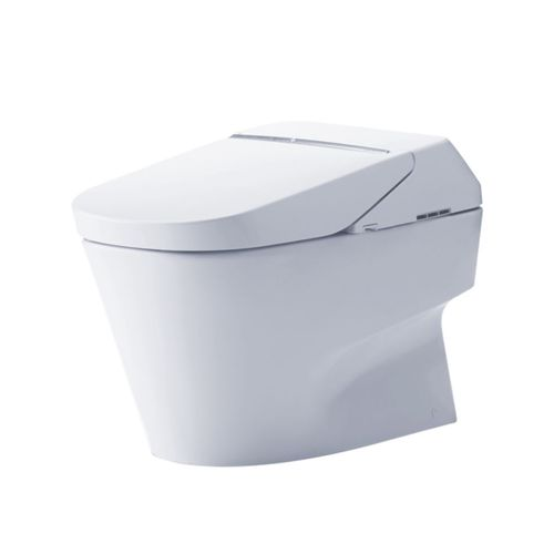 """Neorest Dual-Flush With Integrated Bidet Seat with Integrated Bidet Seat and eWater+ - Cotton White (32.31"""" x 20.75"""" x 17.63"""")"""