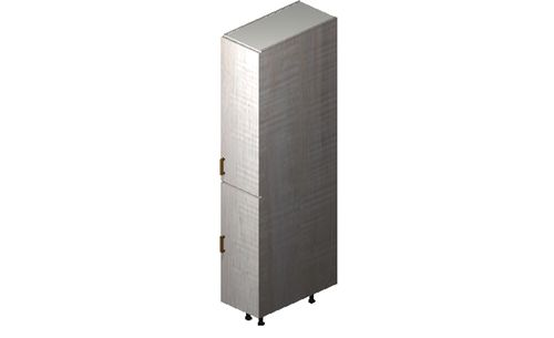 """Cortina Oyster Shell 12"""" x 71.25"""" x 24"""" 1 Full-Height Door Tall Cabinet"""