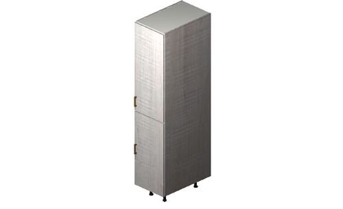 """Cortina Oyster Shell 15"""" x 71.25"""" x 24"""" 1 Full-Height Door Tall Cabinet"""