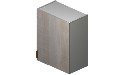 """Cortina Oyster Shell 27"""" x 30.33"""" x 13.5"""" Blind-Corner Wall Cabinet"""