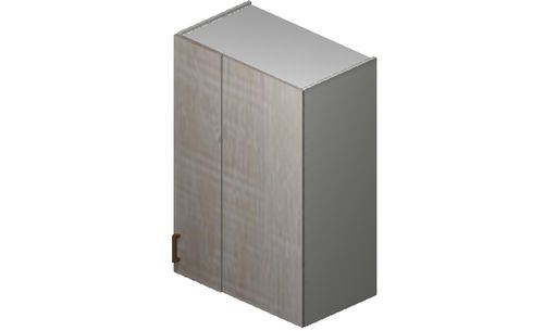 """Cortina Oyster Shell 27"""" x 35.33"""" x 13.5"""" Blind-Corner Wall Cabinet"""