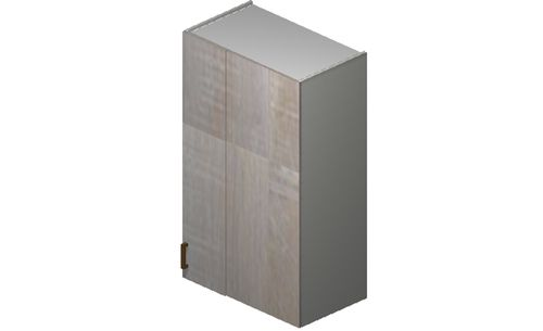 """Cortina Oyster Shell 27"""" x 40.33"""" x 13.5"""" Blind-Corner Wall Cabinet"""