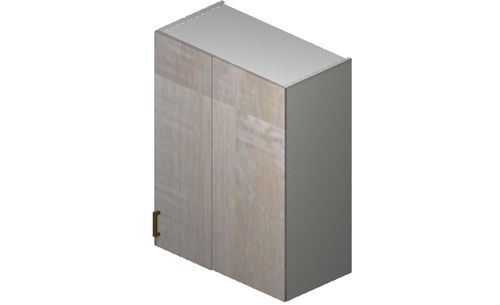 """Cortina Oyster Shell 30"""" x 35.33"""" x 13.5"""" Blind-Corner Wall Cabinet"""