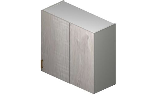 """Cortina Oyster Shell 36"""" x 30.33"""" x 13.5"""" Blind-Corner Wall Cabinet"""