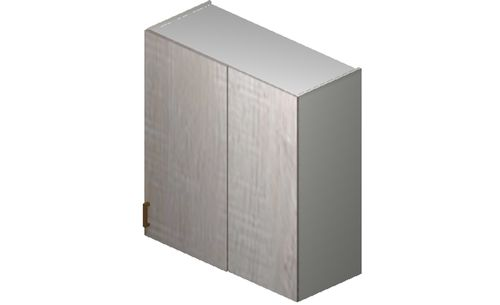 """Cortina Oyster Shell 36"""" x 35.33"""" x 13.5"""" Blind-Corner Wall Cabinet"""