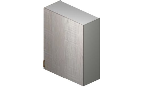 """Cortina Oyster Shell 36"""" x 40.33"""" x 13.5"""" Blind-Corner Wall Cabinet"""