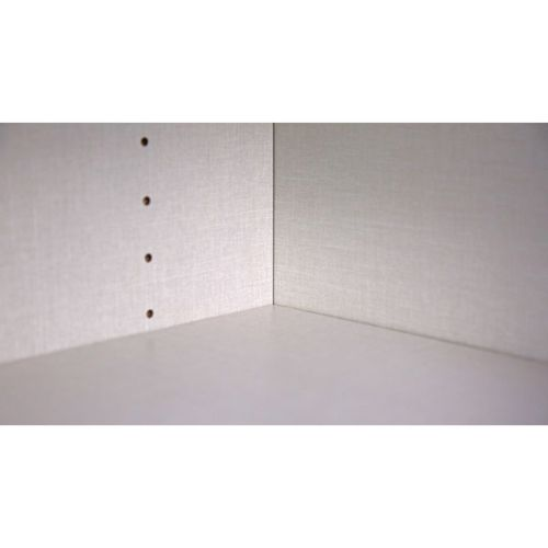 """Marquis White Pine 24"""" x 34.75"""" x 24"""" Sink 2 Full-Height Doors Base Cabinet"""