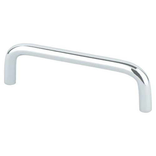 """Advantage Plus Zurich 4.06"""" Contemporary Steel Pull - Polished Chrome"""