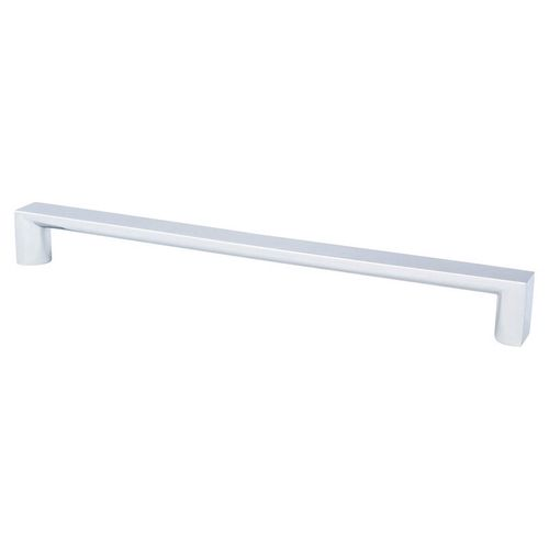 """Elevate 10.63"""" Contemporary Aluminum Appliance Pull - Polished Chrome"""