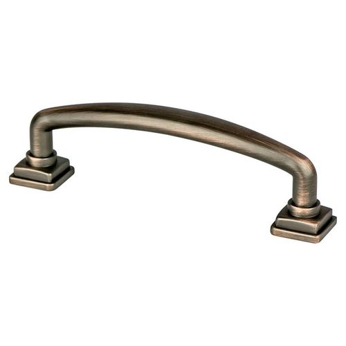 """Tailored Traditional 4.5"""" Traditional Zinc Pull - Verona Bronze"""
