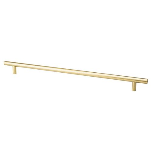 """Tempo 15"""" Transitional Bar Steel Pull - Modern Brushed Gold"""