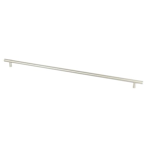 """Tempo 23.75"""" Transitional Bar Steel Pull - Brushed Nickel"""