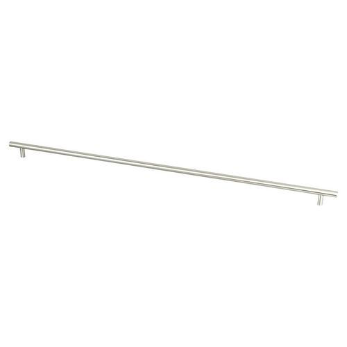 """Tempo 27.56"""" Transitional Bar Steel Pull - Brushed Nickel"""