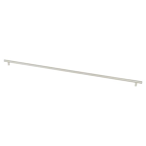 """Tempo 32.63"""" Transitional Bar Steel Pull - Brushed Nickel"""