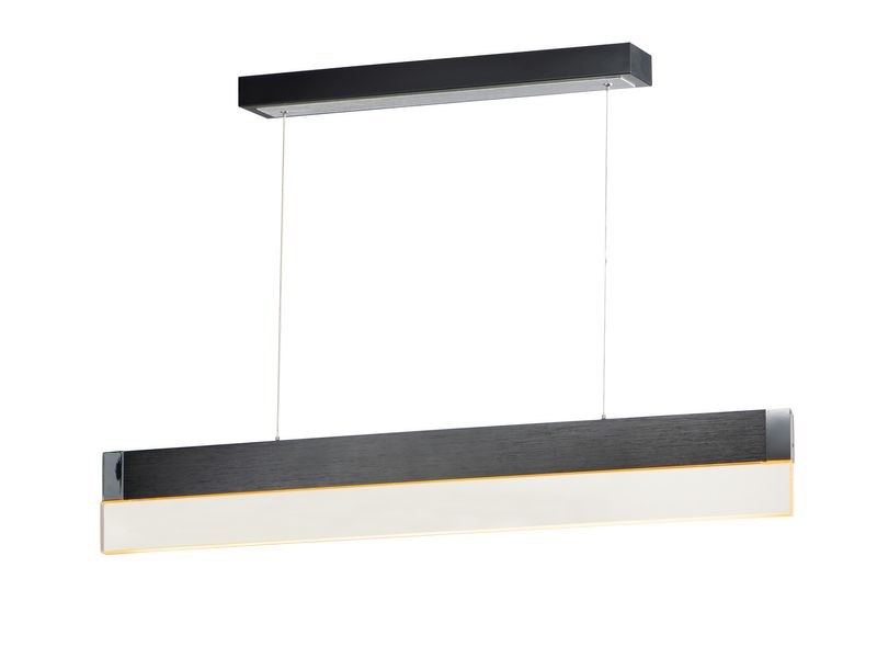 "iBar 4.75"" 1-Light Friends of Hue - Brushed Black"