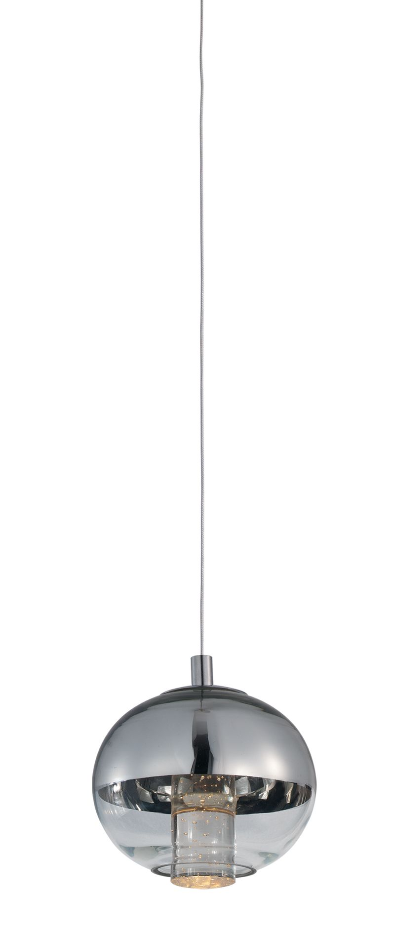"Zing 4.75"" RapidJack Pendant - Polished Chrome"
