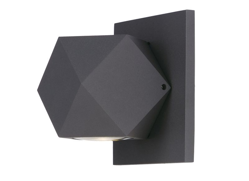 "Alumilux Sconce 4.75"" 1-Light Outdoor Wall Mount - Bronze"