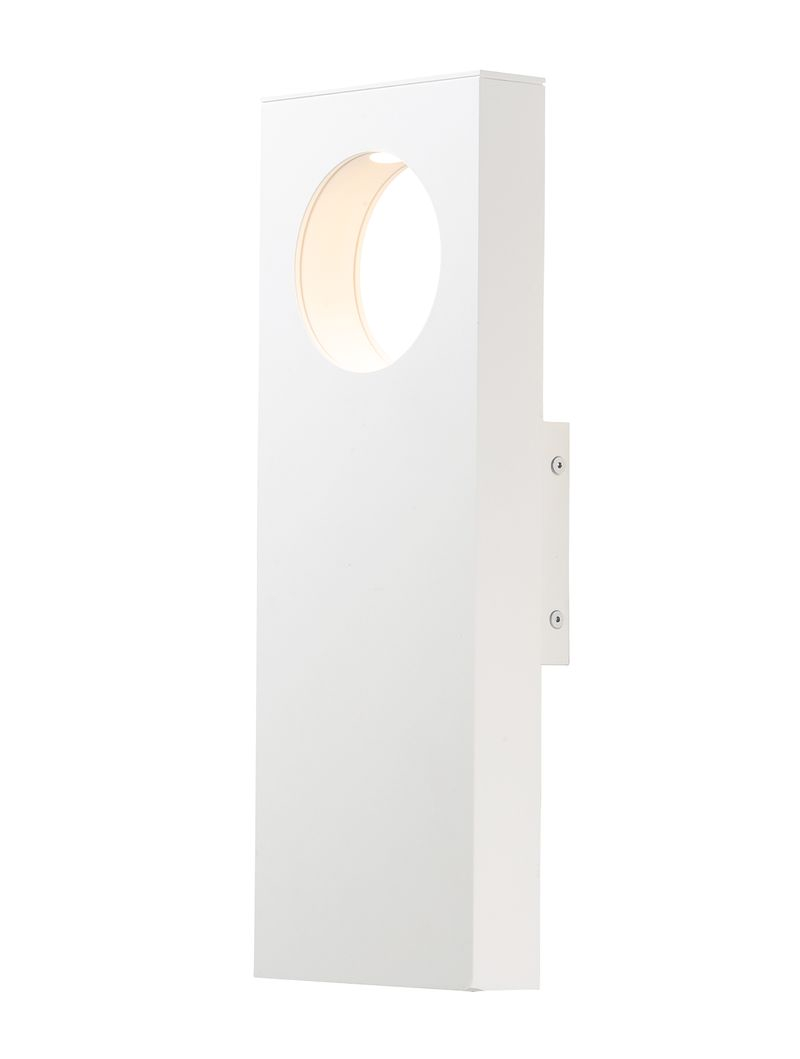 "Alumilux Sconce 5.75"" 2-Light Outdoor Wall Mount - White"