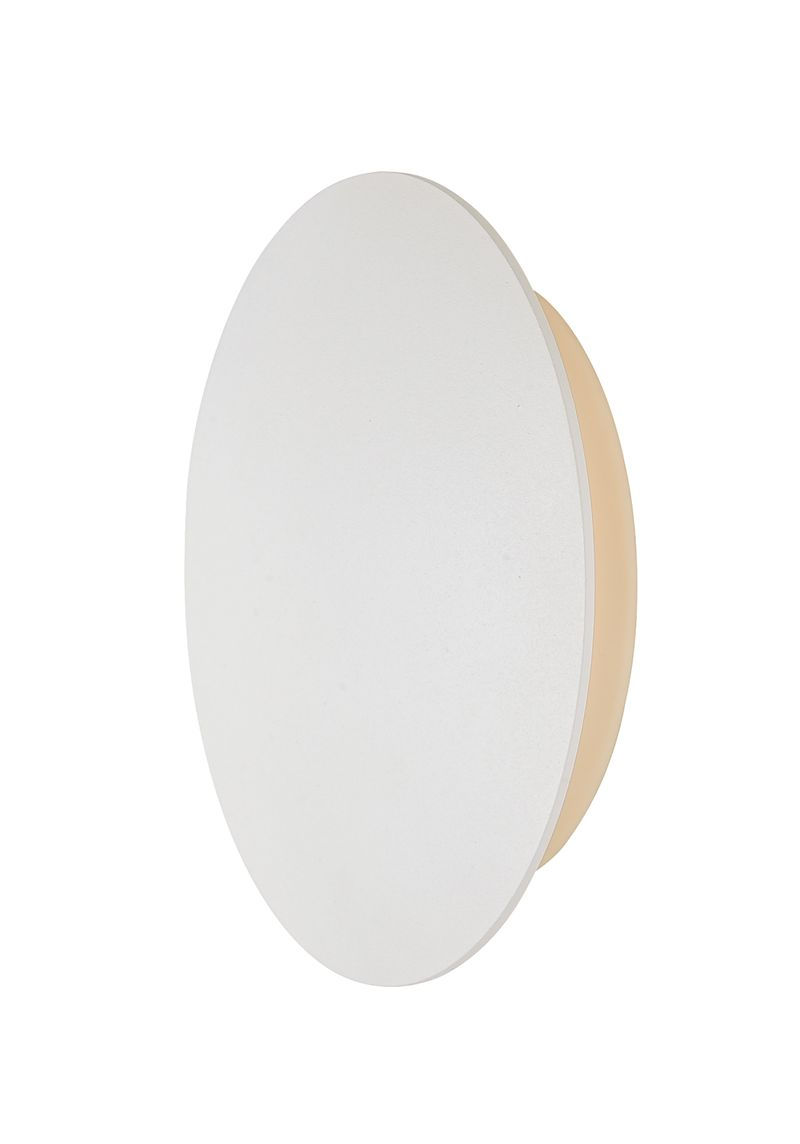 "Alumilux Sconce 6"" 1-Light Outdoor Wall Mount - White"