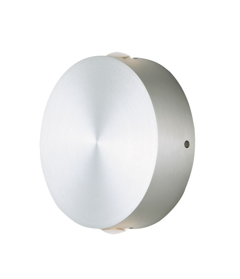 "Alumilux Sconce 4.75"" 2-Light Outdoor Wall Mount - Satin Aluminum"