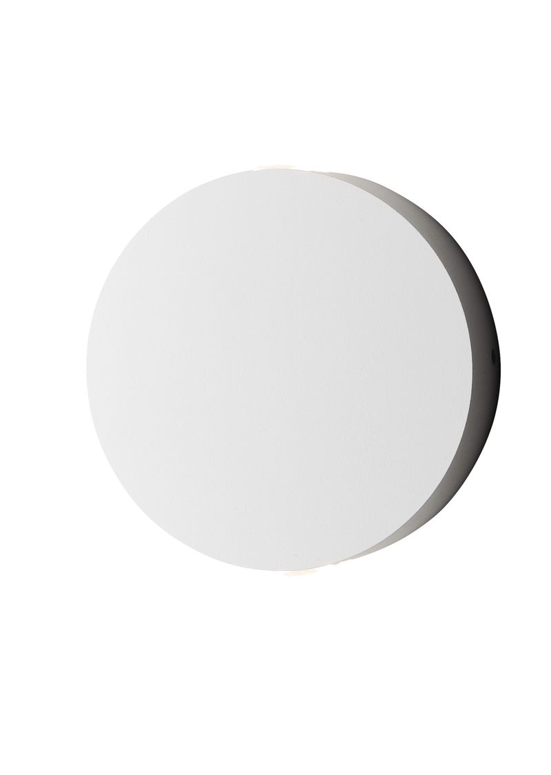 """Alumilux Sconce 4.75"""" 2-Light Outdoor Wall Mount - White"""