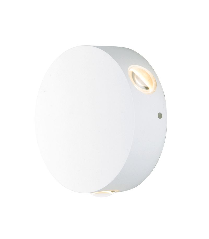 "Alumilux Sconce 4.75"" 3-Light Outdoor Wall Mount - White"
