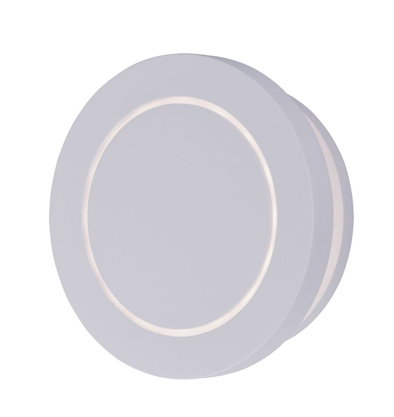 """Alumilux Sconce 5.25"""" 1-Light Outdoor Wall Mount - White"""