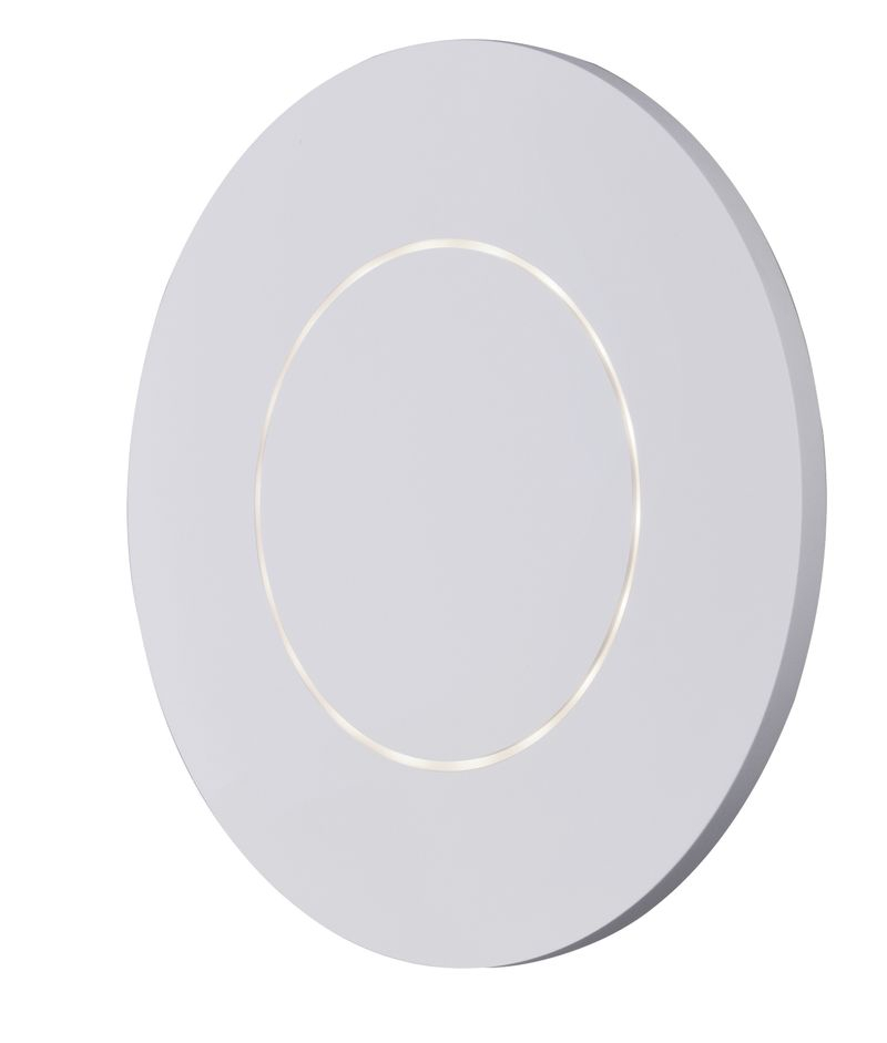 """Alumilux Sconce 11.75"""" 1-Light Outdoor Wall Mount - White"""
