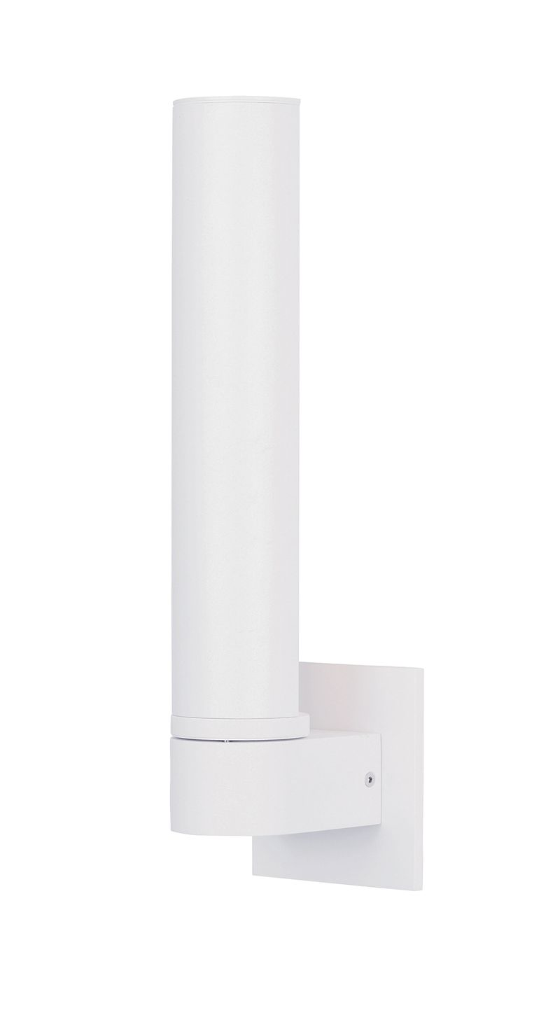 """Alumilux Sconce 4.25"""" 1-Light Wall Sconce - White"""